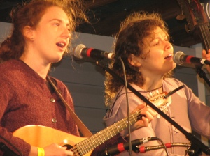 Furnace Mountain band's Morgan Morrison and Aimee Curl.